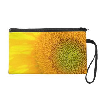Gelbe Blumensonnenblume Wristlet