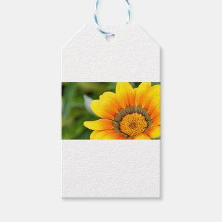 Gelbe Blüte Geschenkanhänger