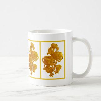 Gelbe Chrysantheme Kaffeetasse