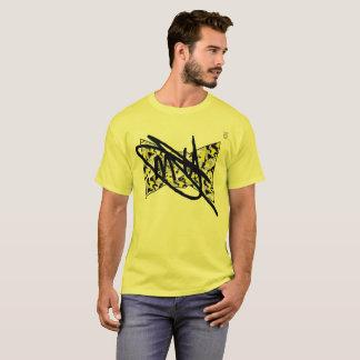 Gelbe die Camouflage-Unterzeichnung der Männer T-Shirt