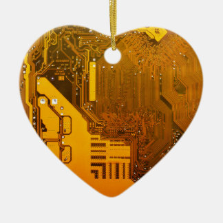 gelbe elektronische Schaltung board.JPG Keramik Herz-Ornament