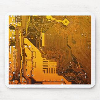 gelbe elektronische Schaltung board.JPG Mousepad