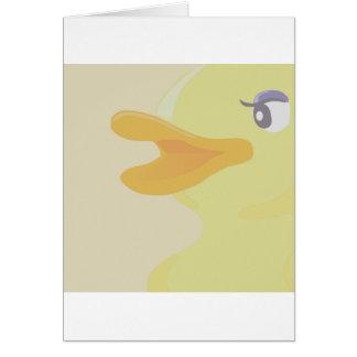 Gelbe Ente Karte