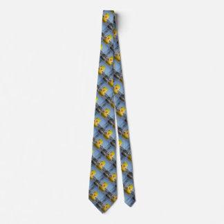 Gelbe Enten-Gummikrawatte Donald Trump Personalisierte Krawatte