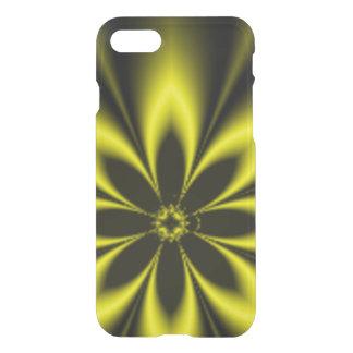 Gelbe Fraktal-Explosion iPhone 8/7 Hülle