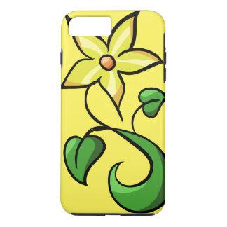 Gelbe Frühlings-Blume iPhone 7 Plus Hülle