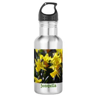 Gelbe Jonquils 18oz rostfreie Wasser-Flasche Trinkflasche