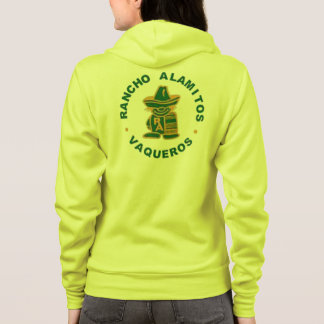 Gelbe Klasse Rancho Alamitos von 1975 Hoodie