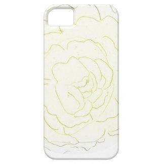 Gelbe Kohl-Rose iPhone 5 Etui