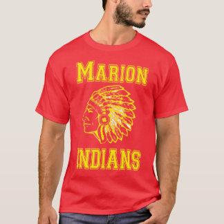 Gelbe Kopie Marions-amerikanischen Ureinwohners T-Shirt
