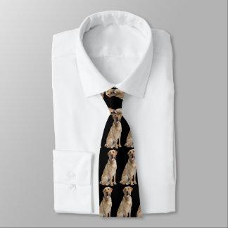 Gelbe Labrador-HundeKrawatte Krawatte