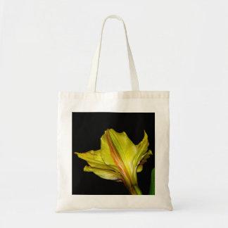 Gelbe Lilie Einkaufstasche
