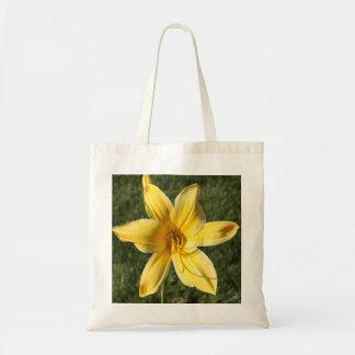 Gelbe Lilie Einkaufstaschen