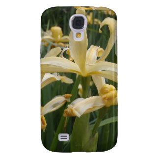Gelbe Lilien Galaxy S4 Hülle