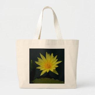Gelbe Lotos-Wasserlilie Jumbo Stoffbeutel