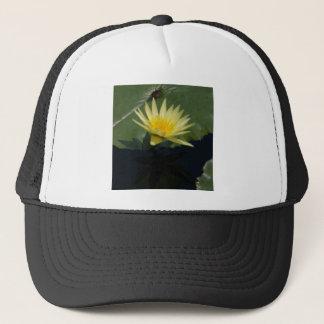 Gelbe Lotos-Wasserlilie Truckerkappe