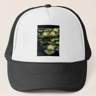 Gelbe Lotos-Wasserlilien Truckerkappe