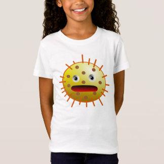 Gelbe lustige Bakterien des Monsters T-Shirt