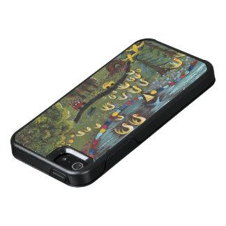 Gelbe malende Enten, Marie Stephens Kunst OtterBox iPhone 5/5s/SE Hülle