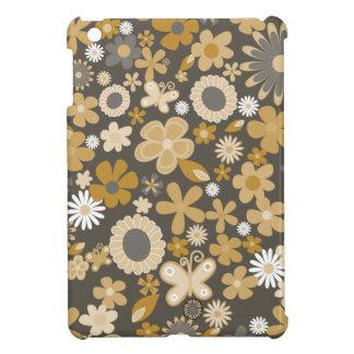 Gelbe MischBlumen iPad Mini Cover