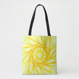 Gelbe Mustertasche Tasche