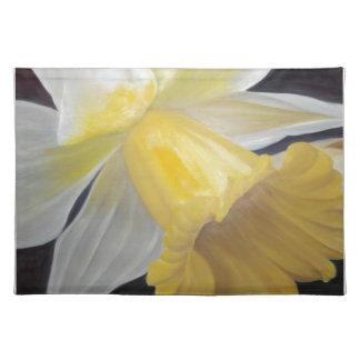 Gelbe Narzisse Stofftischset