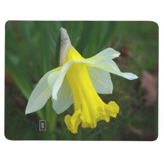 Gelbe Narzisse Taschennotizbuch