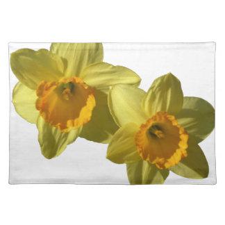 Gelbe Narzissen 2.2.2.f Stofftischset