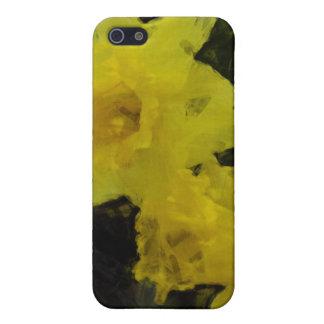Gelbe Narzissen-Blumenimpressionist-Malerei Schutzhülle Fürs iPhone 5