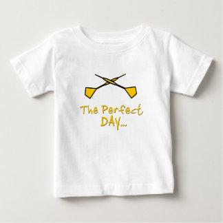 Gelbe Pfeile Baby T-shirt