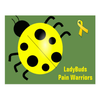 Yellow Mail Series - Ladybug Post Card