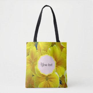 Gelbe Primeln Tasche