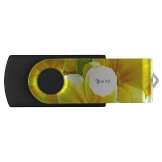 Gelbe Primeln USB Stick