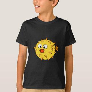 Gelbe Puffer-Fische T-Shirt