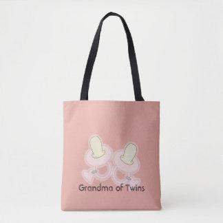 Gelbe rosa Großmutter-Mamma-Tante Sister der Tasche