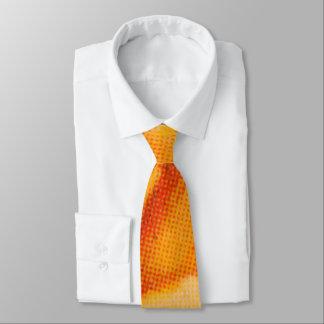 Gelbe Rose Krawatte