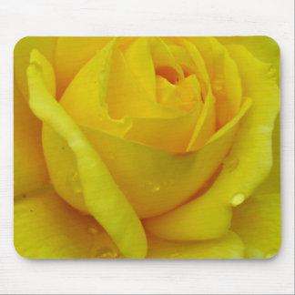 Gelbe Rose Mauspad