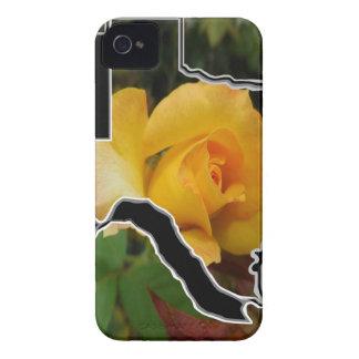 Gelbe Rose von Texas mit Texas iPhone 4 Hülle