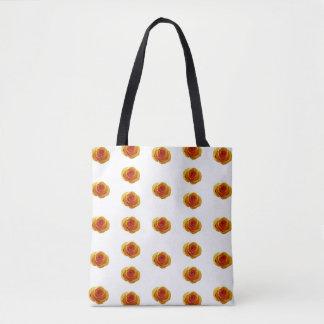 Gelbe Rosen-Druck-Taschen-Tasche Tasche