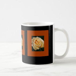 Gelbe Rosen-Schönheit Kaffeetasse