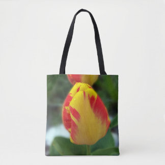 gelbe rote Tulpen Tasche