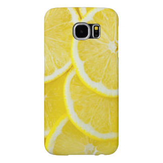 Gelbe Scheibe-Zitronen