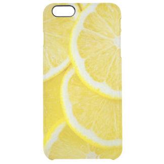 Gelbe Scheibe-Zitronen Durchsichtige iPhone 6 Plus Hülle