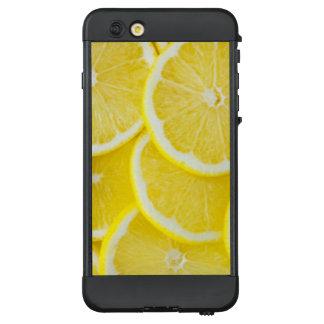 Gelbe Scheibe-Zitronen LifeProof NÜÜD iPhone 6 Plus Hülle