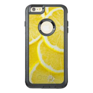 Gelbe Scheibe-Zitronen OtterBox iPhone 6/6s Plus Hülle