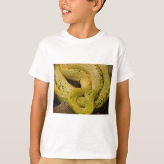 gelbe Schlange T-Shirt