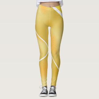 Gelbe Schönheit Leggings