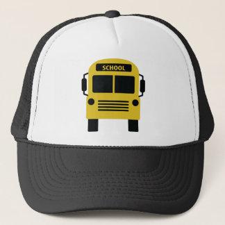 gelbe Schulbusikone Truckerkappe