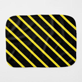 Gelbe schwarze Streifen Spucktuch