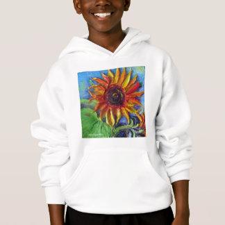 Gelbe Sonnenblume Hoodie